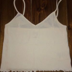 Urban outfitters cropped tank top